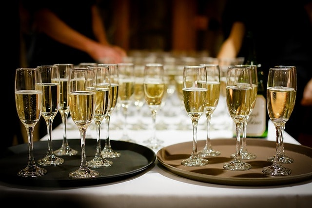 Minstrel Court Wedding Venue - Serving the Toast Drinks
