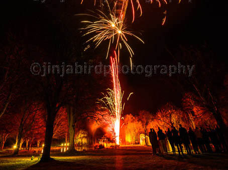 Minstrel Court weddings - Fireworks