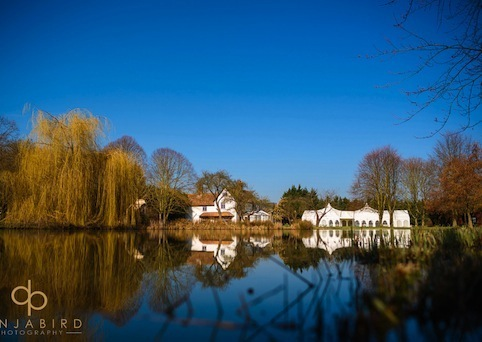 Minstrel Court Weddings - Blue sky over the Lake