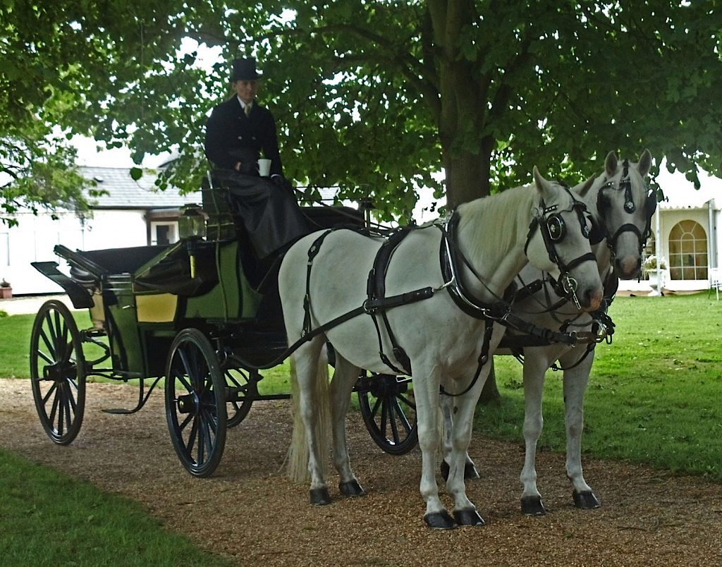 Minstrel Court Weddings - a coach and horses