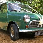 Minstrel Court Weddings tranport mini cooper