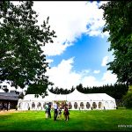 Minstrel Court Wedding Venue - Marquee exterior