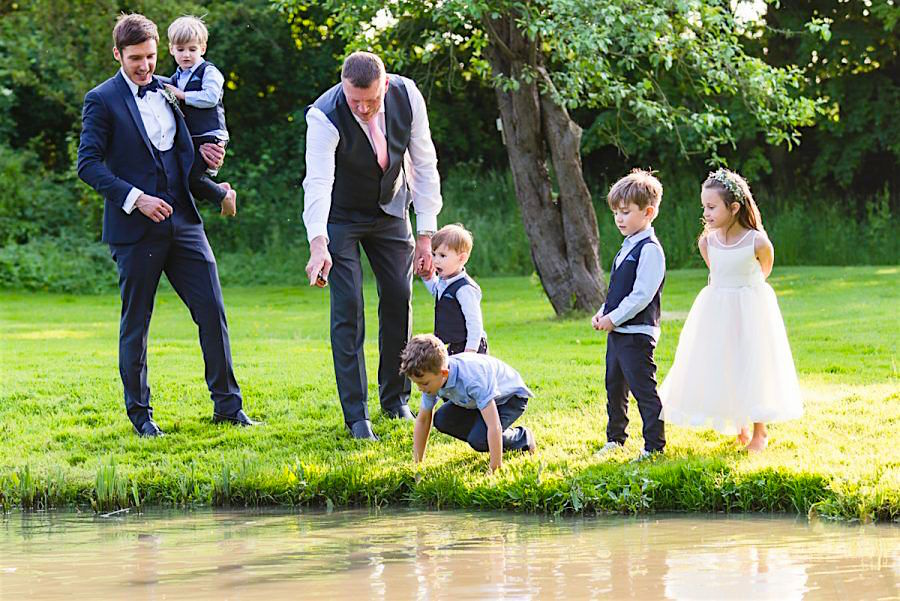 Minstrel Court Wedding Venue - Fish in the lake