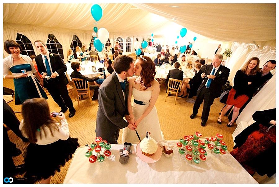 Minstrel Court Wedding Venue - Cutting the Cake