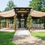 Minstrel Court lake Wedding Pavilion - we can cover all the guests!