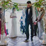 Minstrel Court lake Wedding Pavilion - Jewish Ceremony