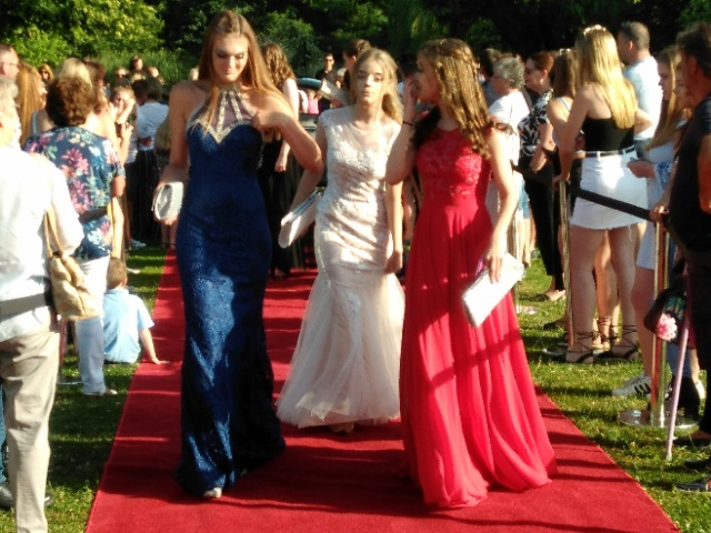 MINSTREL COURT PROM DANCE - DRESSES