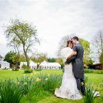 Minstrel Court Wedding Venue - Bride and Groom in the Spring