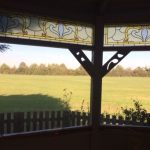 Minstrel Court Wedding Meadow Chapel - the view from the Ceremony