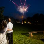 Minstrel Court Wedding Venue - Watching the Fireworks