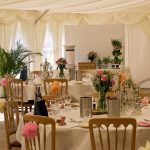 Minstrel Court Wedding Venue - marquee Roses