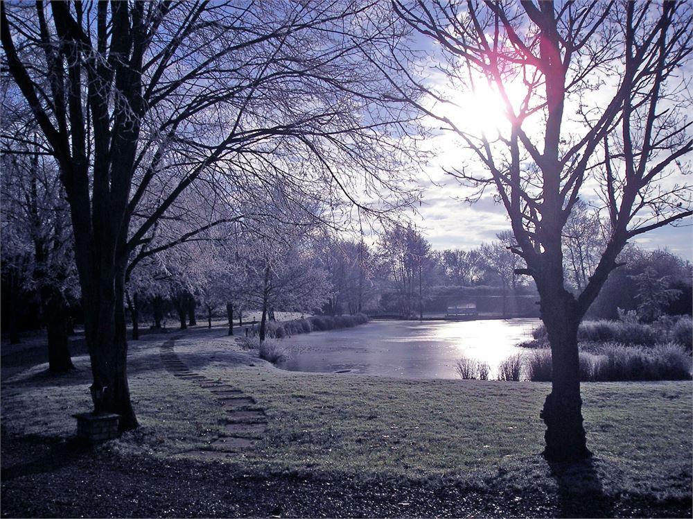 Minstrel Court Wedding - Winter over the lake