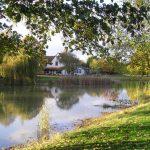 Minstrel Court Wedding - autumn over the lake