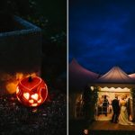 Minstrel Court Weddings - Marquee at Halloween
