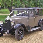 Minstrel Court Weddings - tranport - Antique Bentley