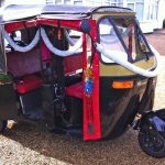 Minstrel Court Weddings - tranport - Tuk Tuk for the Bride