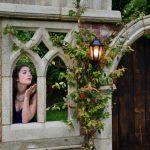 The Minstrel Court Wedding Folly at Dusk