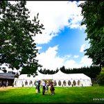 Minstrel Court Wedding Venue - Marquee exterior