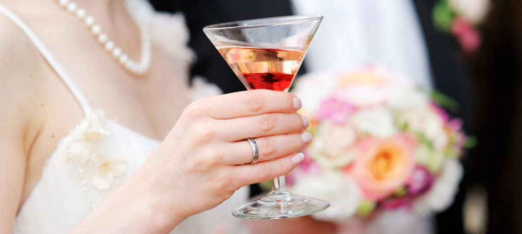 Wedding Cocktail for the Bride