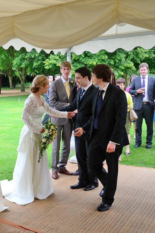 Minstrel Wedding Marquee - Entrance